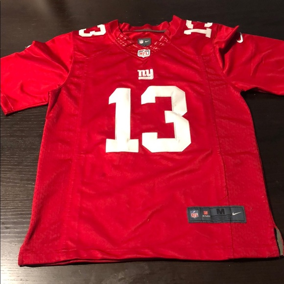 best website 38300 5379c Odell Beckham Jr. #13 New York Giants Jersey Red